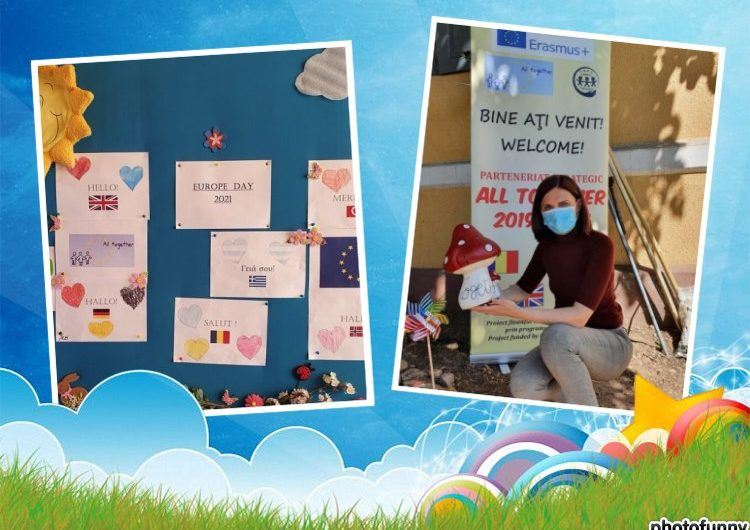 Europe Day 2021 – Erasmus Garden at CSEI Cristal Oradea